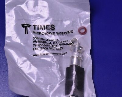 """Times Microwave Systems TC-240-BMC BNC/M for 1/4"""" LMR-240"""