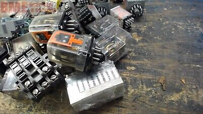 Lot Of 40+ Assorted Relays & Bases