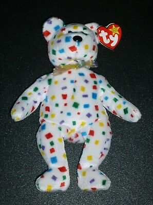 Ty Beanie Baby Ty 2K Bear 2000 Beanie Babies Retired With Tags