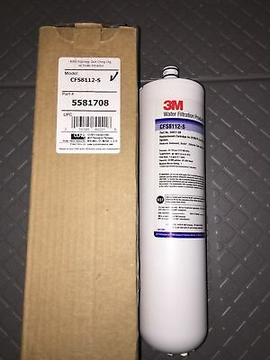 1 new CFS8112-S Cuno 3M Water Filtration Water Filter Retrofit Cartridge 5581708