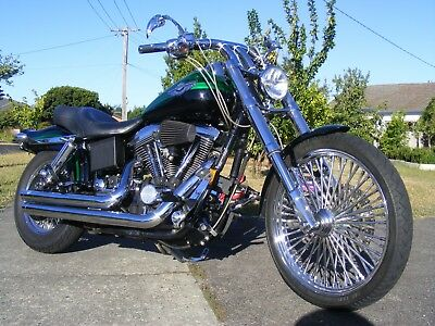 Harley Davidson Dyna Wide Glide Lotsa $ Spent Sell Swap Price Negotiable