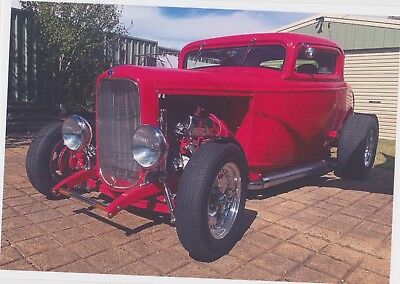 Ford 32 Hot Rod 3 Window Coupe