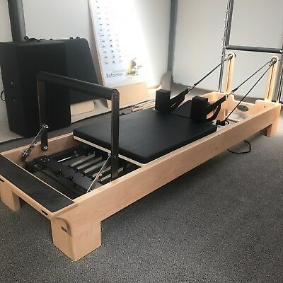 Pilates Reformer machine,excellent condition.(www.pilateshealthequipment.com.au)