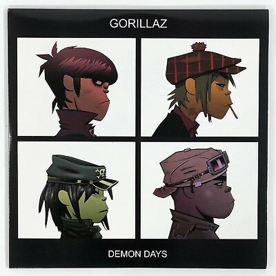 "Gorillaz - Demon Days [2LP] Vinyl 12"" Record 2014 33 RPM X/1000"