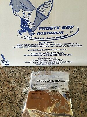 Frosty Boy Chocolate Flavouring Sachets X 22.