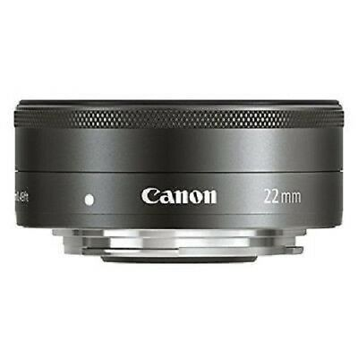 USED Canon EF-M 22mm f/2 STM Lens FREE SHIPPING