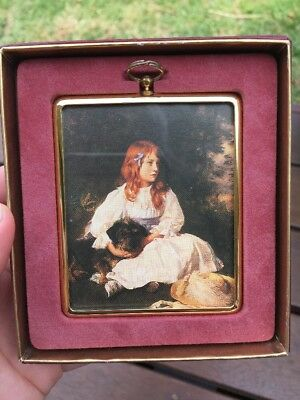 Peter Bates Limited 10th Addition Miniature Reproductions Plaque Pictur