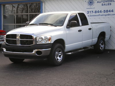 2007 Dodge Ram 1500 ST 2007 DODGE RAM 1500 SLT, QUAD CAB, 4x4, 1 OWNER, BLOCK HEATER, E85