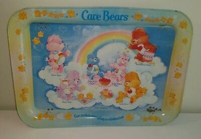 Vintage Care Bears TV Tray with Baby Hugs & Tugs