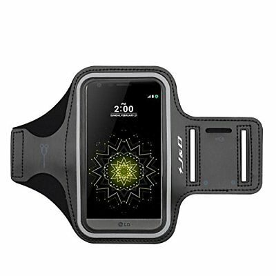 J&D LG G5 Sport Armband with Keyholder Slot & Earphone Connection