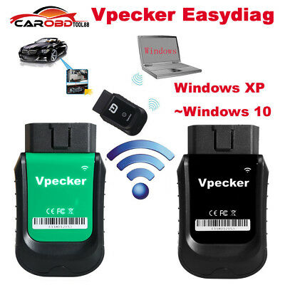 Latest V9.1 VPECKER Easydiag WINDOWS 10 Wireless OBDII Full Diagnostic Tool