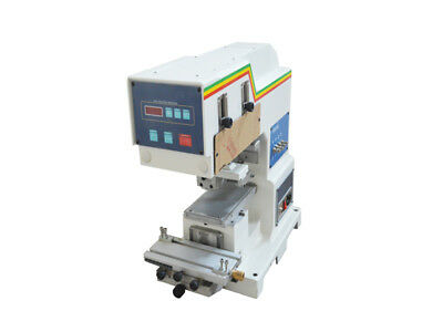 New 110V Single Color Pneumatic Pad Printer with 70mm ink cup - Free Shipping