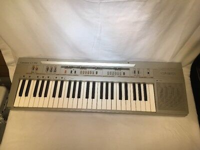 Vintage 80's Casio Casiotone CT-310 Keyboard Synthesizer Piano 49 Keys Works