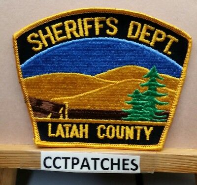 Latah County, Idaho Sheriff (Police) Shoulder Patch Id