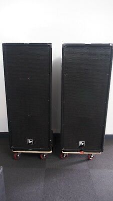 1 Pair of Electro-Voice Mongoose EVO 111 PA speakers