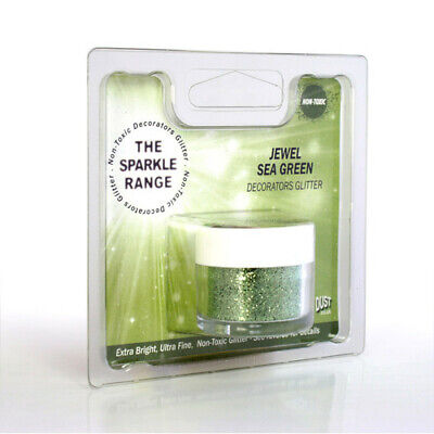 Jewel Sea Green - Sparkle Range Non Toxic Glitter - Rainbow Dust
