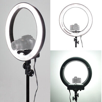 "18""55W 240 Pieces LED SMD Ring Light 5500K Ring set W Light Stand Kit"