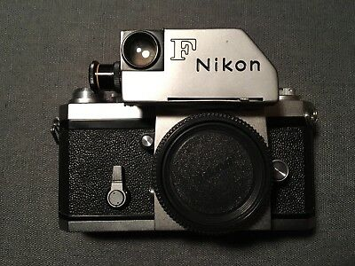 Nikon F photomic (œil) - Chrome