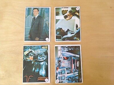 1967 Scanlens BAT LAFFS Batman TV cards X4 Australian  1 9 11 14