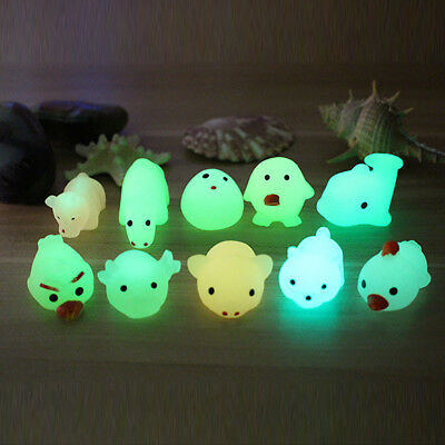 Adult Pet Kids Glowing Animal Squeeze Healing Ball Boy Funny Toy Stress Reliever