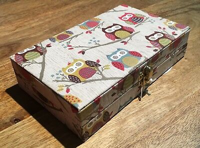 Bobbin Storage Box Case 'hoot' Owl Design Super Quality