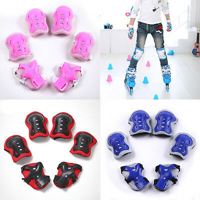 UK Elbow Wrist Knee Pads Sport Safety Protective Gear Guard for Kids