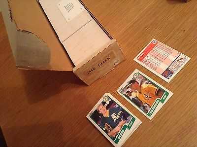 Complete Set 1990 Fleer MLB Baseball Trading Cards (660 Cards Plus Puzzle Cards)
