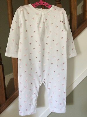 The Little White Company White Baby Girl's Romper, 6-9 months – Used