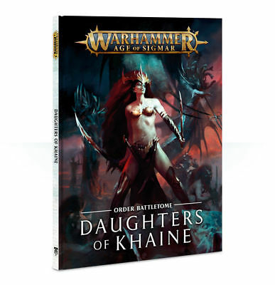 Battletome: Daughters of Khaine, Deutsch, Age of Sigmar, Games Workshop, NEU/OVP