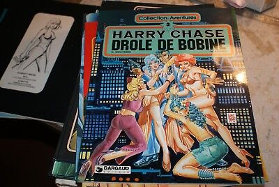 collection aventures  n 3 harry chase drole de bobine