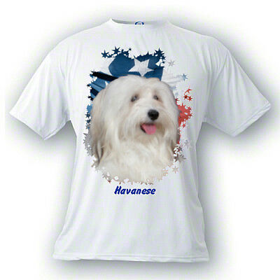 Havanese   # 3   Stars & Stripes  Custom  PERSONALIZED  Pet  T shirts