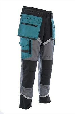 NEW! Work Trousers Lahti Pro l40502 Blue Safety quality