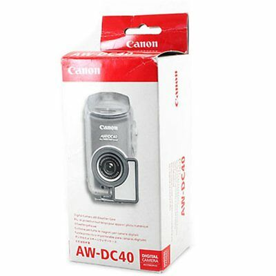 Canon AW-DC40 Funda Impermeable All Weather Case Powershot SD30 SD40 BNIB Nuevo