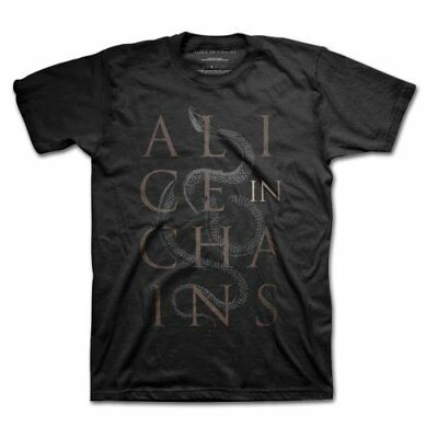 NEW Alice In Chains Men's Tee: Snakes (Large)