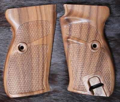 walther p38  wood grip