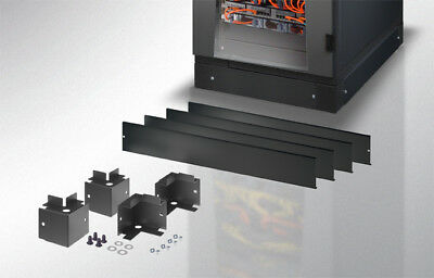 Base 600 x 1000 mm for Cabinets Server Rack Black I-CASE PL60100T