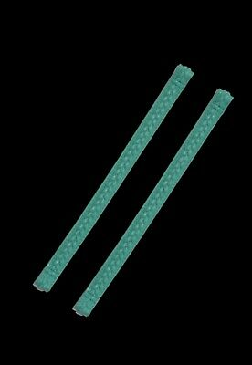 "Authentic Miche~Brand New~Interchangeably handle straps~11"" TEAL~breaded tops"