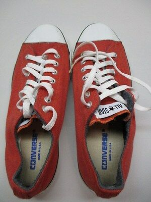 Converse Made in USA  vintage Chuck Taylor ,knit? low-top mens10