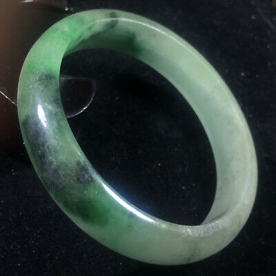 Chinese Old jadeite natural old jade hand carved jade bracelet bracelet A20