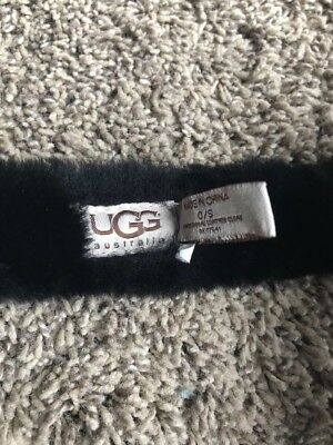 Ugg Earmuffs Black Excellent Condition