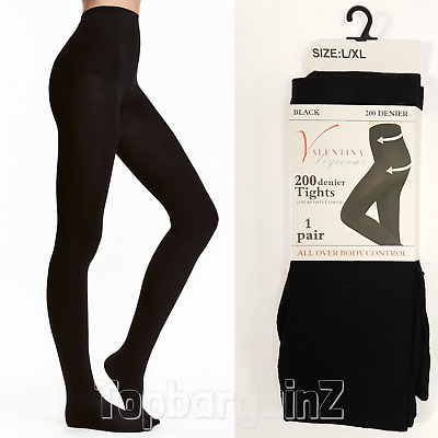 200 Denier Opaque Tights Ladies Extra Thick Soft Winter Warming Thermal Womens