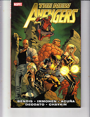 New Avengers Vol 2 by Bendis Marvel Comics TPB Trade Paperback NM