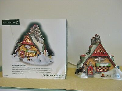 Dept 56 FROSTY PINES OUTFITTERS North Pole Series NIB