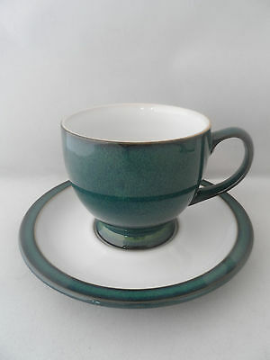 "Denby ""Greenwich"" Cup and Saucer"