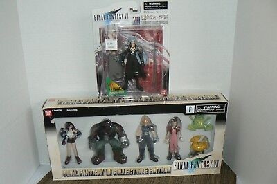 final fantasy 7 action figure Set with Sephiroth brand new