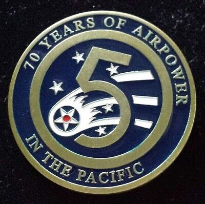 Us Forces Japan 5th Air Force Commanders Challenge Coin 70