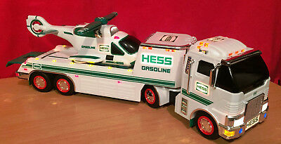 2006 Hess Toy Truck And Helicopter-Used