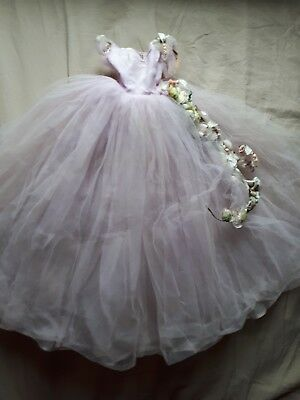 Vintage Madame Alexander Cissy Pink Belle of the Ball Gown Dress