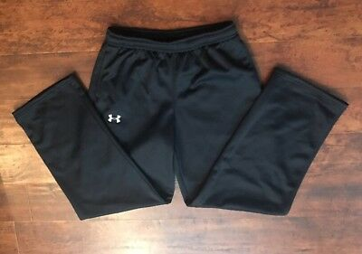 Under Armour Athletic Sweat Pants Black Youth Extra Small YXL