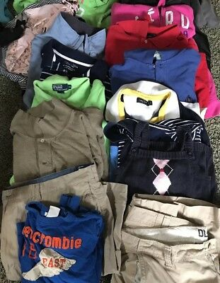 50 pieces Wholesale Mixed Lot of Men's Women's Teen Clothing for Resale